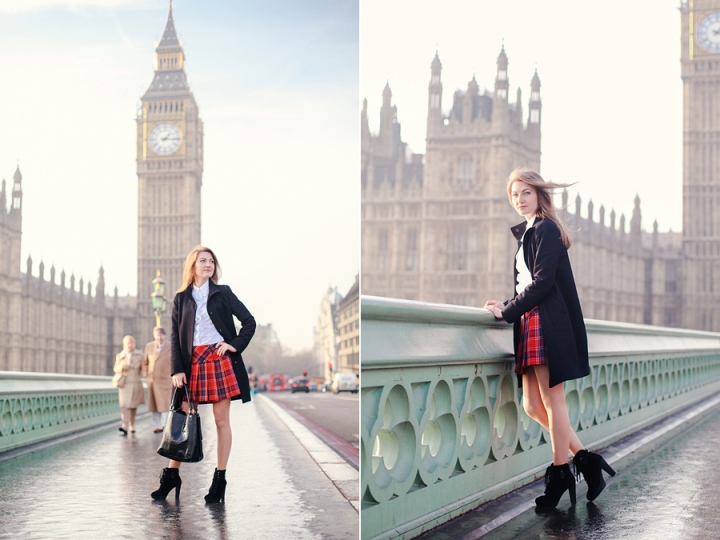 London photoshoot December