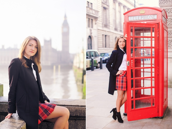 London December photoshoot