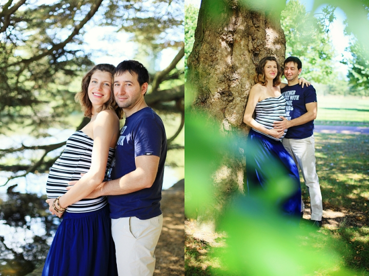 Pregnancy photo shoot in Osterley park London
