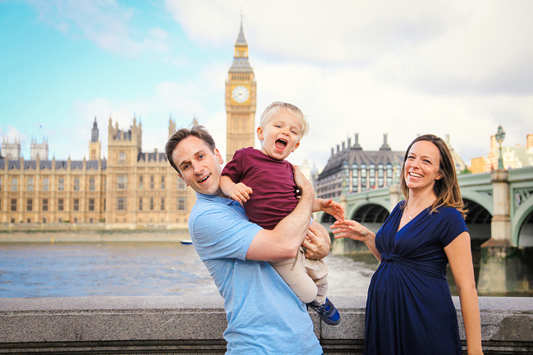 Family outdoor photo shoot London Big Ben Westminster Hampstead Heath02