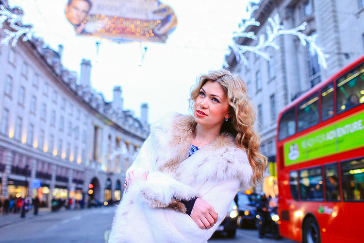 fashion portrait london photo shoot soho oxford street regents christmas winter carnaby_01