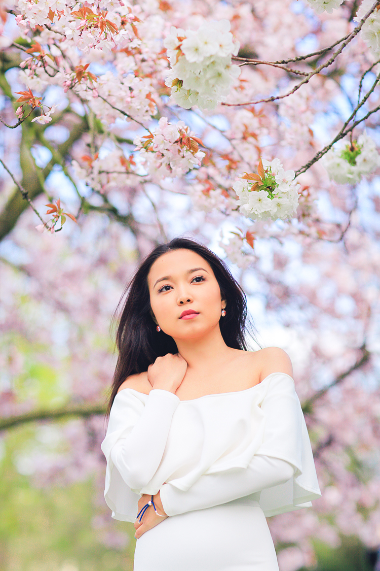 Miss Sakura: Spring Fashion Photoshoot In Regent's Park