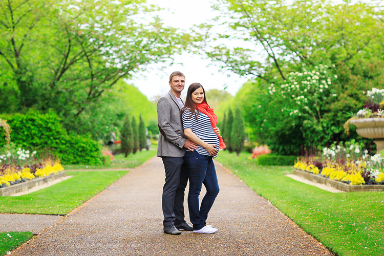 pregnancy photo shoot london spring maternity regents park