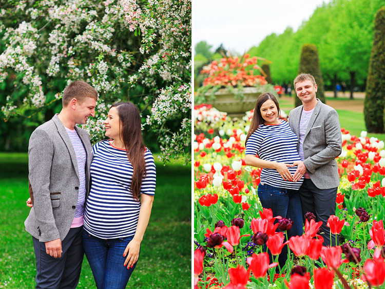 pregnancy photo shoot london spring maternity regents park  (2)