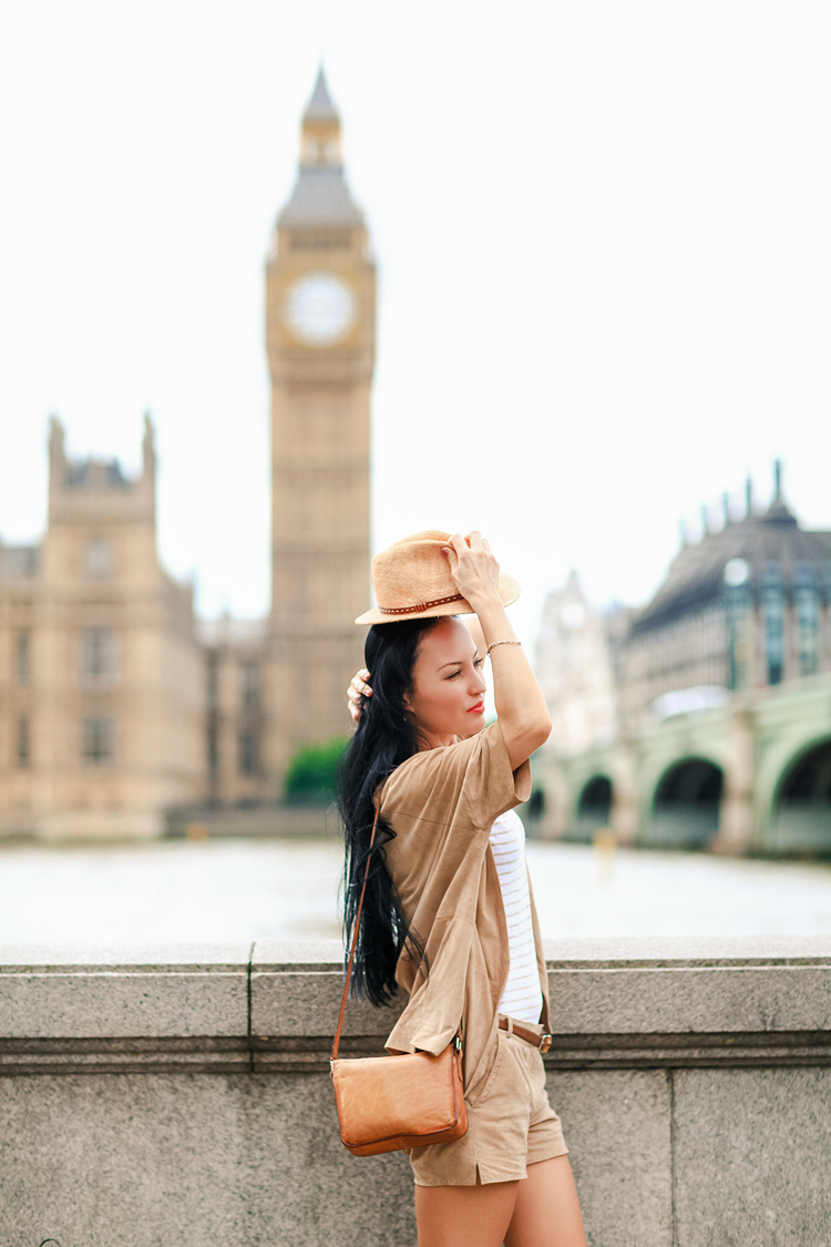 portrait photo shoot London summer Chelsea Kensington Big Ben Westminster