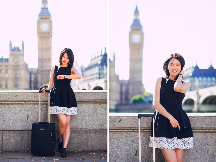 portrait fashion photo shoot London Big Ben Westminster (2)