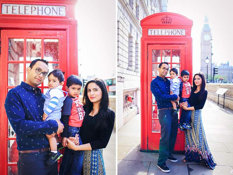 family photographer London Big Ben photo shoot Tower Bridge