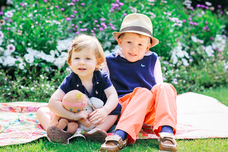 Family kids photography London Regents park summer