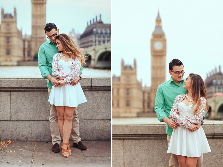 engagement pre wedding photographer London love story couples photo shoot Westminster Big Ben  Regents park _ (1)
