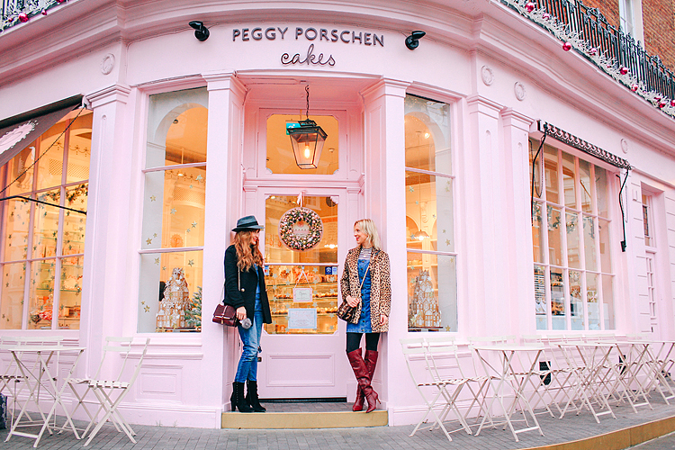 London fashion street style shoot peggy porschen cakes belgravia chelsea belle and bunty style