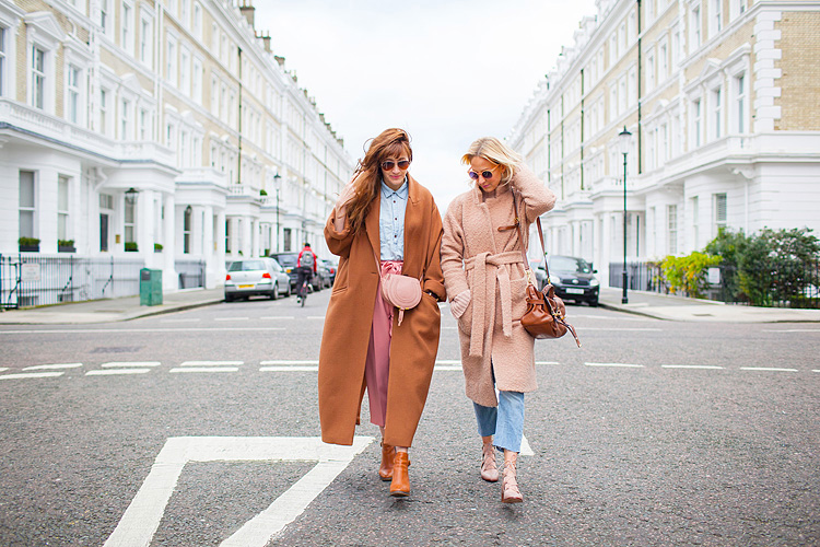street style fashion photo shoot blogger london kensington winter belle and bunty