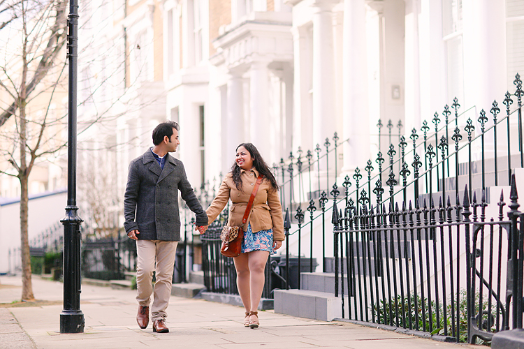 notting hill london winter engagement love couples engagement photo shoot portobello