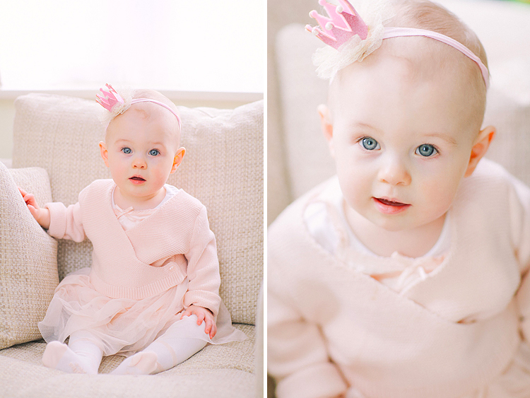 baby girl first birthday family photo shoot indoor London (1)