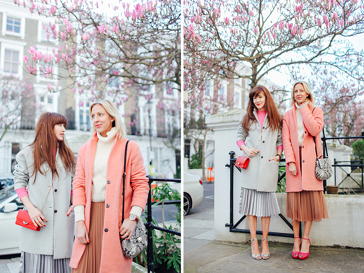 fashion street style photo shoot London spring notting hill st lukes mews boho