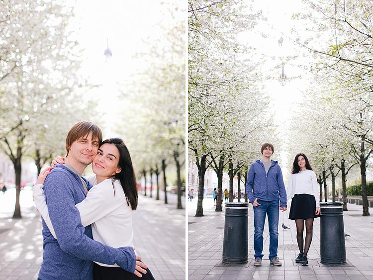 couples engagement outdoor London westminster big ben photo shoot (2)