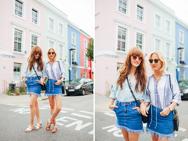 kentish town street style shoot fashion blogger summer