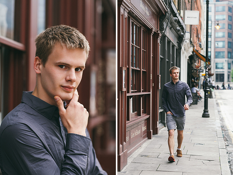 portrait fashion mens street style photo shoot East London Liverpool street station (1)
