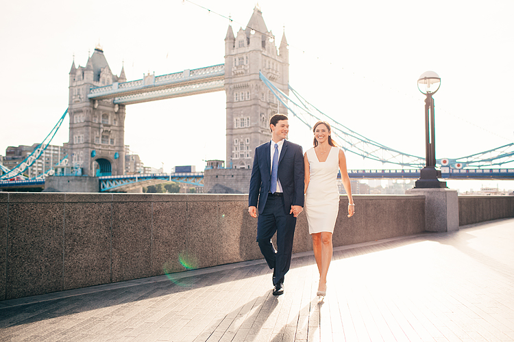couples photo shoot engagement photographer London Tower Bridge Regents park summer