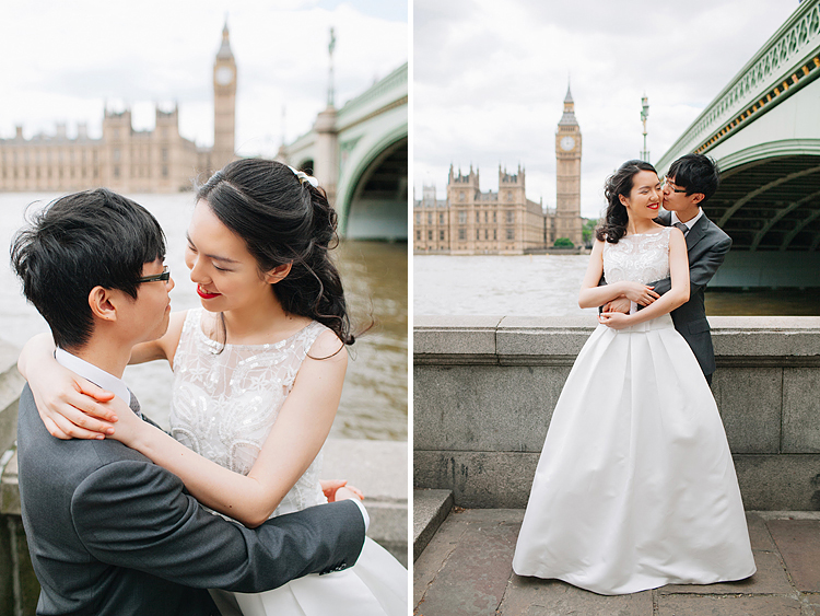 pre wedding photo shoot in London engagement couple summer westminster big ben (2)
