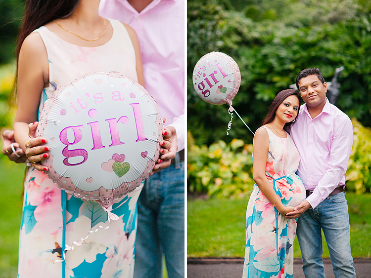 pregnancy maternity couple photo shoot london summer regents park (2)