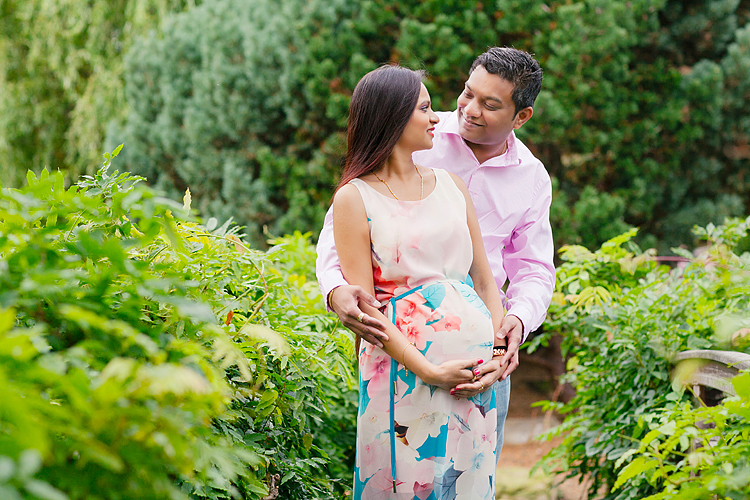 pregnancy maternity couple photo shoot london summer regents park