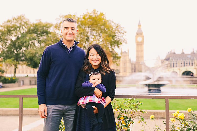 family baby photo shoot autumn london westminster big ben