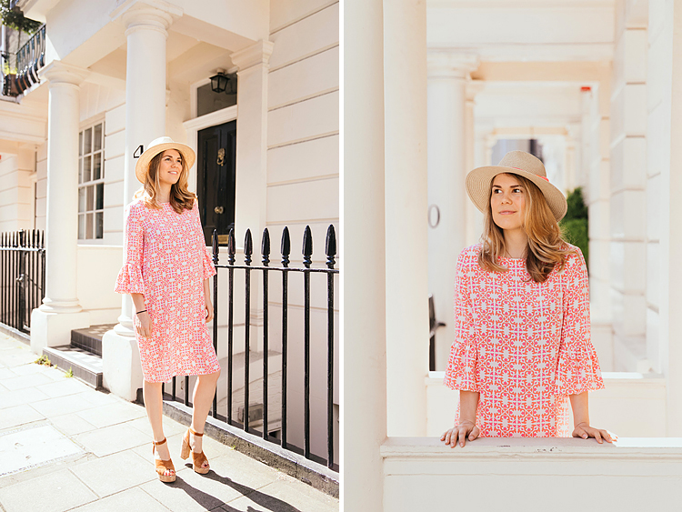 pregnancy maternity street style fashion beulah dress london photographer