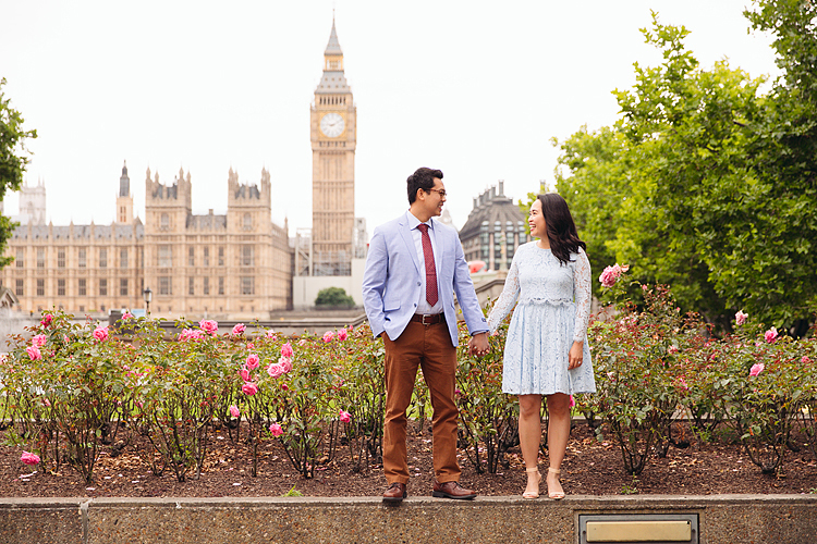 anniversary couples engagement love photo shoot london Big ben Westminster (1)
