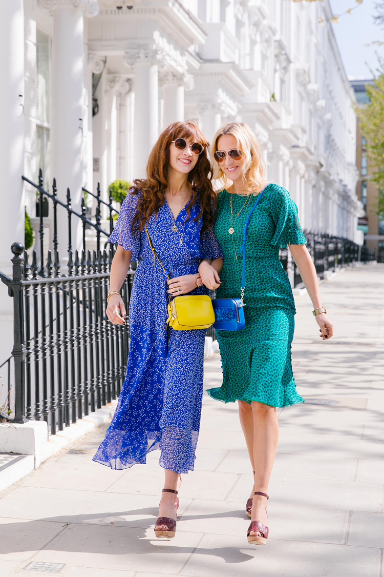 l k bennett london street style fashion spring photo shoot kensington belle and bunty margarita karenko photographer