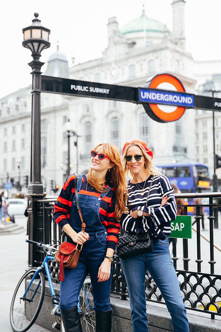 street style photographer london fashion photo shoot piccadilly circus belle and bunty style bloggers matalan