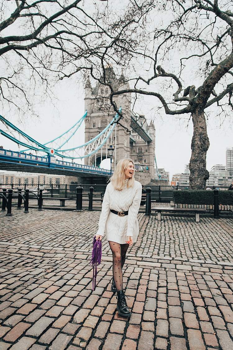 fashion street style photographer photo shoot london tower bridge portrait outdoor spring