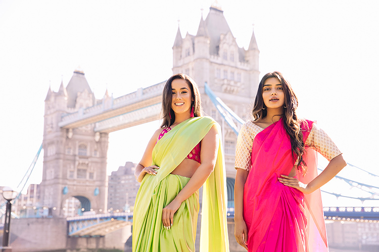 fashion editorial south asian bridal wear photo shoot London sakhii (1)