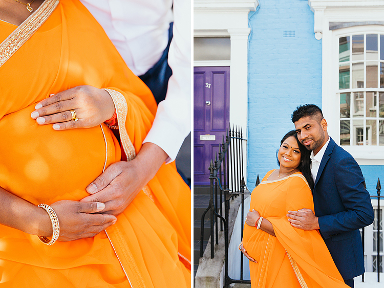 pregnancy photography london notting hill photo shoot couple (1)