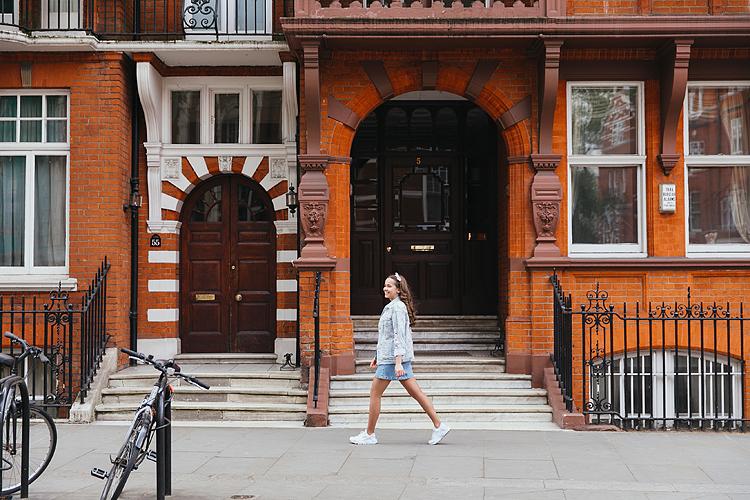 street style chelsea portrait photo shoot outdoor London